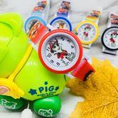 兒童電子手錶男童小學生石英可愛女童指針式卡通汪汪隊防水手錶  極有家