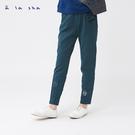 a la sha 畫格子玩遊戲造型長褲