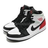 Nike Air Jordan 1 Mid SE Union Black Toe 黑 灰 紅 男鞋 喬丹 休閒鞋 運動鞋 【ACS】 852542-100