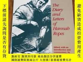 二手書博民逛書店Civil罕見War Nurse: The Diary and Letters of Hannah Ropes