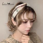 髮箍 頭箍 ins網紅甜美髮箍女寬邊韓國清新壓髮卡簡約氣質頭箍淑女髮帶頭飾