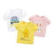 男寶寶半袖女童夏裝短袖純棉t恤男童夏季嬰兒童裝上衣兒童打底衫 伊衫風尚