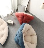 意思生活懶人沙發臥室小型可愛單人榻榻米網紅女生豆袋陽台躺椅-享家