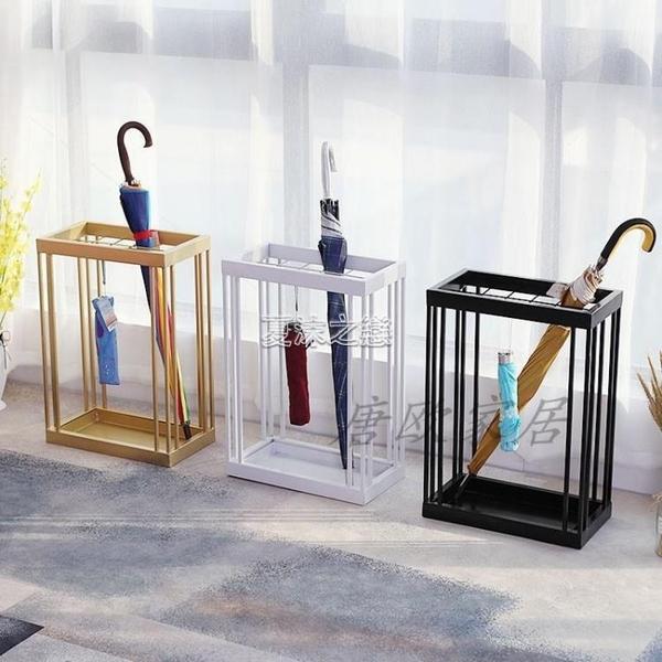 雨傘架北歐鐵藝家用落地放傘桶酒店大堂門口創意簡約掛放收納傘架 快速出貨