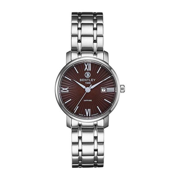 新品上市 ◢BENTLEY 賓利◣ 簡約三針石英中性錶  日本機芯 德國製造BL1830-10LWDI 咖啡