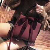 手提包時尚大包包女新款潮韓版 百搭斜挎磨砂單肩簡約手提包托特包 99免運 萌萌