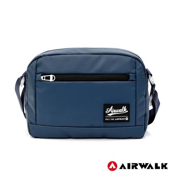 AIRWALK 晶彩生活休閒側背包 -藍色 A855300281