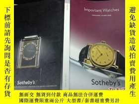 二手書博民逛書店sotheby s罕見hongkong important wa