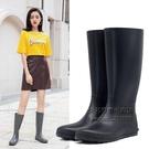 日系長筒雨靴時尚款外穿防滑水靴輕便防水套鞋水鞋高筒雨鞋女 每日下殺NMS