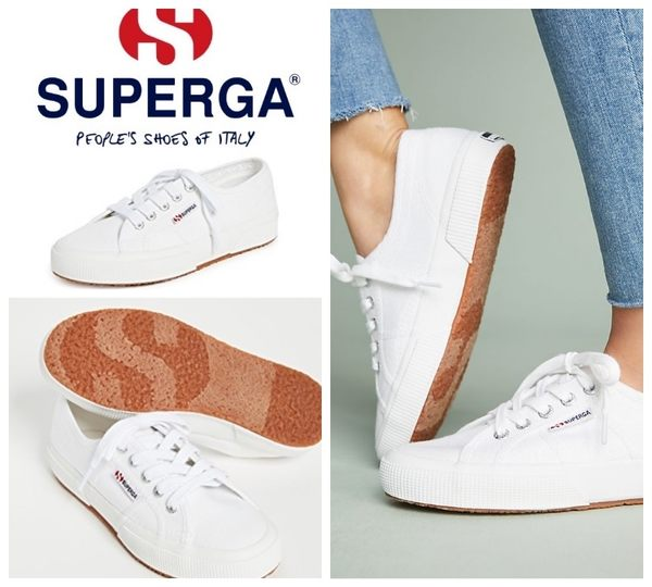 【BJ.GO】Superga Core Classic Sneakers 2750 COTU CLASSIC WHITE 經典白運動鞋