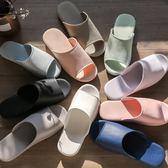 韓版家居浴室拖鞋女夏季情侶室內居家防滑軟底塑料洗澡涼拖鞋男士 挪威森林