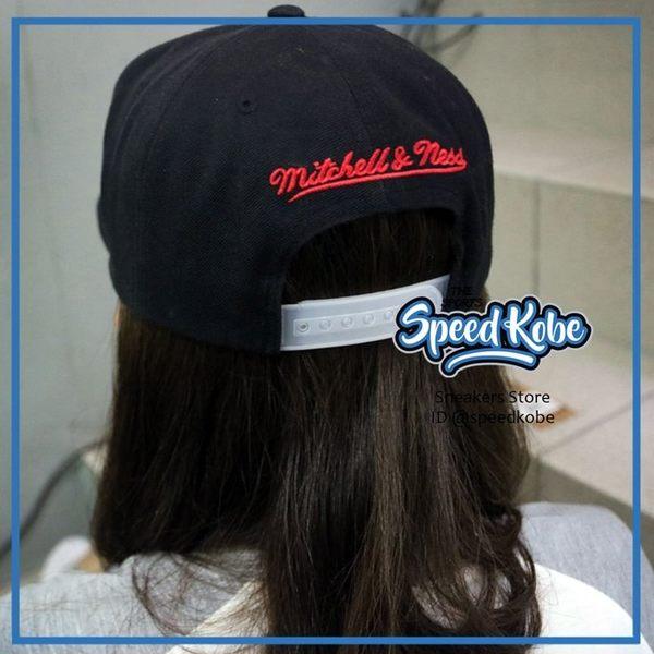 M&N MITCHELL&NESS SNAPBACK 基本 公牛 全黑 棒球帽 206AZCHIBUL ☆SP☆