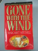 【書寶二手書T6/原文小說_NGA】Gone With The Wind_Margaret Mitchell