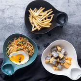 【618好康鉅惠】創意泡面碗 下午茶陶瓷碗餐具帶手柄燕麥片碗