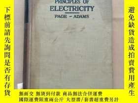 二手書博民逛書店PRINCIPLES罕見OF ELECTRICITY(page-