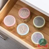 廚房玻璃罐儲存罐收納罐茶葉罐玻璃密封罐【福喜行】