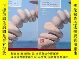 二手書博民逛書店eighth罕見edition strategic manage