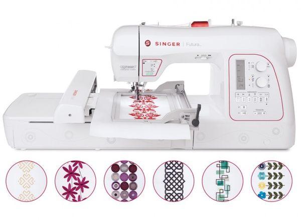 勝家縫紉機  FUTURA XL 580型縫紉機