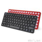 鍵盤 充電2.4G無線鍵盤 臺式機電腦外接迷你便攜超薄靜音無限小鍵盤 潔思米