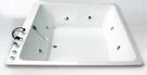 【麗室衛浴】國產加厚 H-314-2 正方形造形缸 150*150*55CM 含活動前、側牆 可直接靠角落安裝