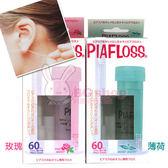 PIAFLOSS 耳洞清潔組 (清潔棒+清潔液) 玫瑰/薄荷【BG Shop】2款供選