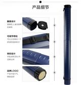 峻峰方形防潮可伸縮塑料畫筒畫紙筒收藏筒卷海報筒收納畫桶學生用