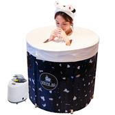 汗蒸箱家用成人蒸汽機桑拿浴箱汗蒸房單人滿月全身發汗泡澡桶YYJ 夢想生活家