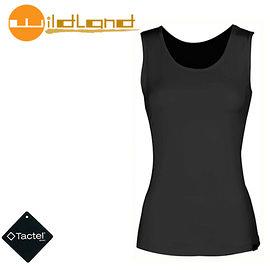 丹大戶外【Wildland】荒野 女款 透氣排汗背心內衣 W1683-54 黑色