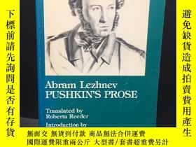 二手書博民逛書店罕見英文精品文史書 Pushkin s Prose by Lez