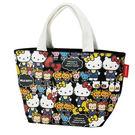 Hello Kitty手提袋 滿版造型棉質手提便當袋/手提袋/便當袋 [喜愛屋]
