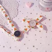 流行女錶 絲帶手錶綁帶女學生韓版簡約氣質小清新百搭夏日清涼森系極簡風 店慶降價