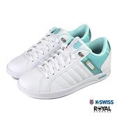 K-swiss Lundahl 白色 皮質 休閒運動鞋 女款NO.J0378【新竹皇家 92533-949】