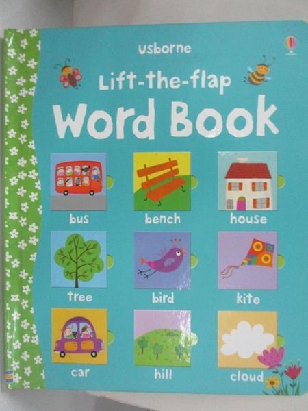 【書寶二手書T2/語言學習_JSN】Lift-the-flap Word Book_Felicity Brooks,Corrine Bittler