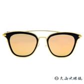 PAUL HUEMAN 韓流墨鏡  雙槓貓眼 太陽眼鏡 PHS1083A C05-1 黑-金 久必大眼鏡