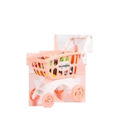 貝恩施兒童購物車玩具女孩 超市小推車過家家玩具寶寶手推車3-6歲