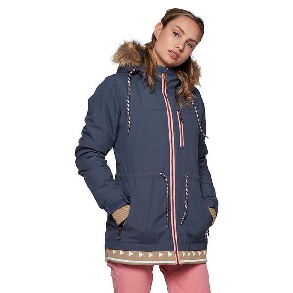 PROTEST 女 機能防水保暖外套 (頹廢色) COLBY SNOWJACKET