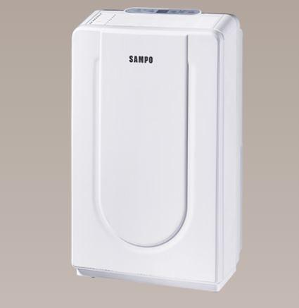 ★退貨物稅 500 元★*~新家電錧~*【SAMPO 聲寶 AD-Y816T】空氣清淨除濕機