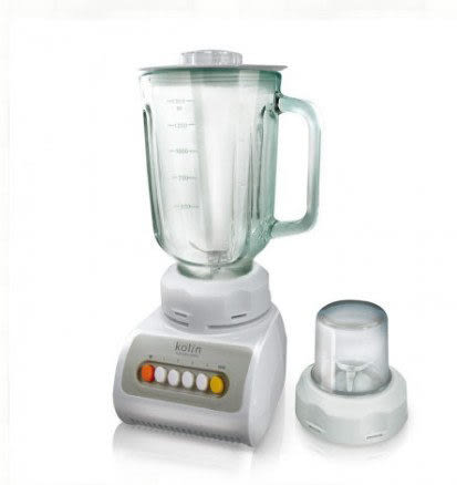 【好市吉居家生活】Kolin歌林 KJE-MN1505G 多功能蔬果調理機 1.5L 果汁機 榨汁機 冰沙機