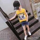 男童背心 兒童背心薄款 男童t恤純棉中大童上衣韓版休閒無袖潮童裝 寶貝計畫