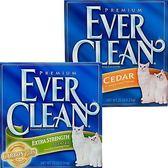 【 ZOO寵物樂園 】美國【EverClean】EVER 超強除臭結塊貓砂1盒- 25LB
