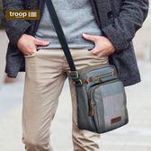 【TROOP】都會時尚URBAN單肩包/TRP0402GY(灰色)