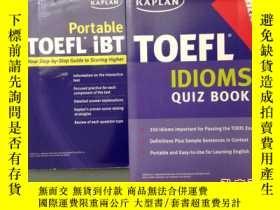 二手書博民逛書店《Kaplan罕見TOEFLIdioms Quiz Book》《