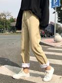 牛仔褲 女裝學生加絨加厚寬鬆褲子高腰百搭顯瘦牛仔褲直筒褲 伊韓時尚