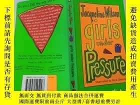 二手書博民逛書店girls罕見under Pressure:壓力之下的女孩Y200392