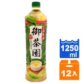 御茶園台灣四季春無糖1250ml(12入)/箱【康鄰超市】