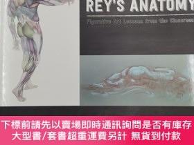 二手書博民逛書店rey s罕見anatomy figurative art lessons from the classroom奇