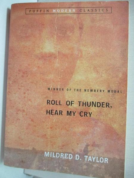 【書寶二手書T9/少年童書_GIX】Roll of Thunder, Hear My Cry_Taylor, Mildred D./ Pinkney, Jerry (INT)