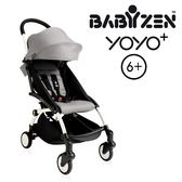 法國【BABYZEN】YOYO-Plus手推車6+ 白腳 (灰色)
