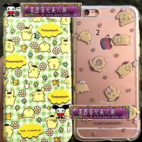 PomPomPurin 布丁狗 清新系列 iPhone6S/6S Plus TPU軟殼  -upcu0030036