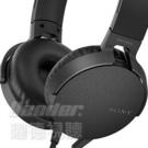 預購【曜德】SONY MDR-XB550AP 黑色EXTRA BASS™ 線控耳罩式耳機 / 免運 / 送收納袋